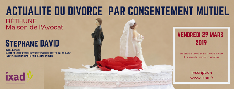 ACTUALITE DIVORCE PAR CONSENTEMENT BETHUNE